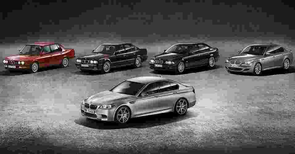 BMW M5 30 Jahre - Divulgação