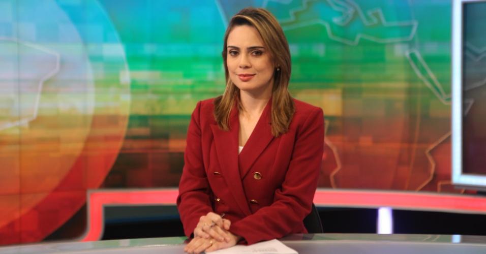 """Rachel Sheherazade, âncora do """"SBT Brasil"""""""