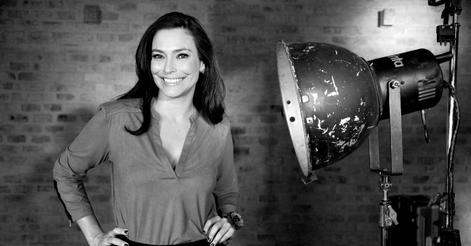 """7.mai.2014 - Valéria Monteiro comanda a partir do dia 19 de maio """"O Show da Vida é Fantástico"""" no Canal Viva"""