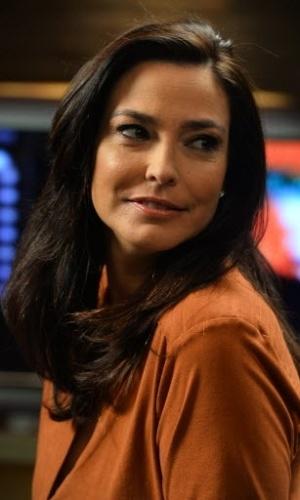 """7.mai.2014 - Valéria Monteiro não descarta uma volta definitiva como apresentadora depois do programa """"O Show da Vida é Fantástico"""""""