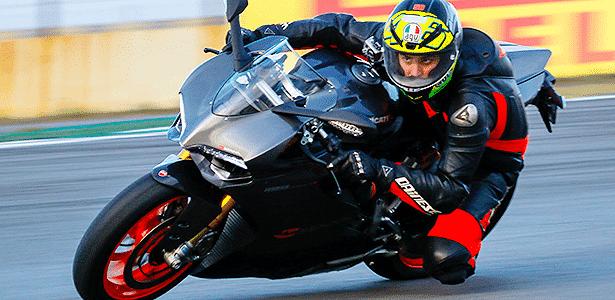 Panigale S Senna chega a quase 300 km/h na reta dos boxes de Interlagos - Divulgação