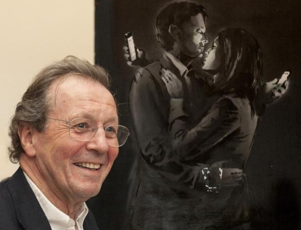 Obra de Banksy está no museu de Bristol - Chris Bahn
