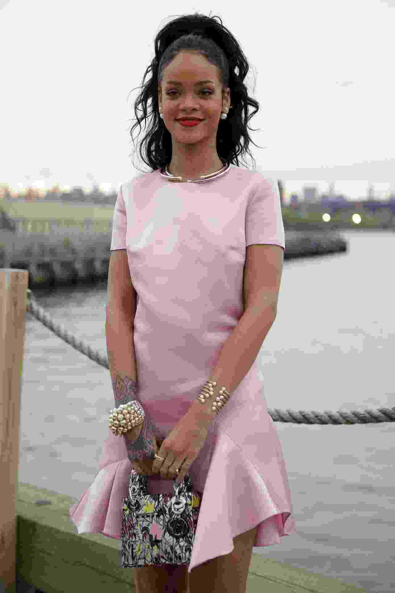Rihanna escolheu um look inteiro Dior - Getty Images