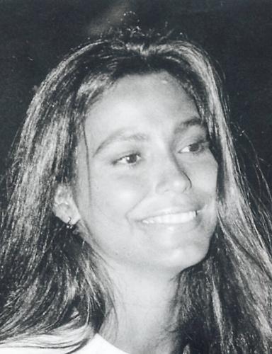 """2.mar.1992 - Aos 21 anos, Valéria Monteiro chegou para trabalhar na Globo e foi a primeira apresentadora do """"Jornal Nacional"""""""