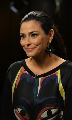 """7.mai.2014 - Valéria Monteiro diz que rever alguns vídeos do passado e confessa ver outra pessoa: """"Como se eu fosse minha filha"""""""