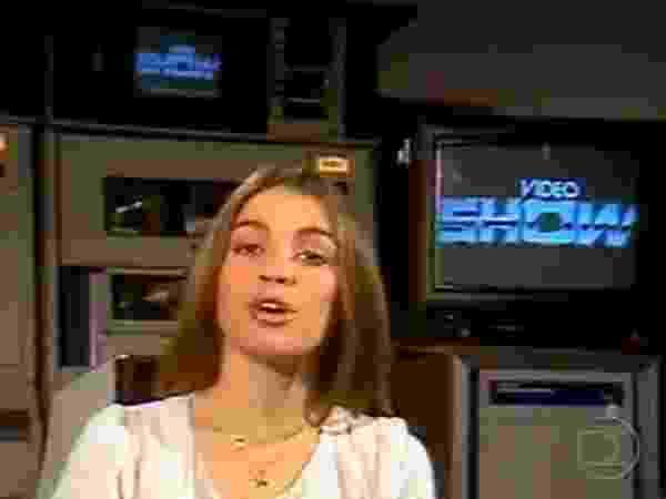 """Tássia Camargo foi a primeira apresentadora do """"Vídeo Show"""", que estreou no dia 20 de março de 1983 - Tássia Camargo foi a primeira apresentadora do """"Vídeo Show"""", que estreou no dia 20 de março de 1983"""