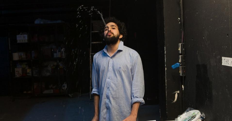 "Bastidores do programa ""The Noite"", de Danilo Gentili"