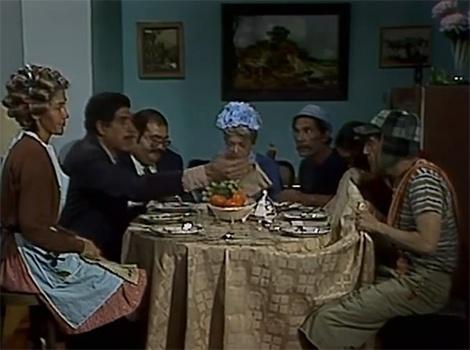 """Em, """"O Dia de São Valentim"""", Dona Florinda convida todos os vizinhos para comemorar o dia de São Valentim com um jantar em sua casa. Sr. Barriga leva presentes para todos e as trapalhadas de Chaves dos vizinhos garantem boas risadas"""