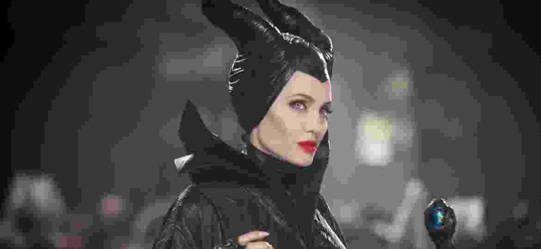 """Angelina Jolie em """"Malévola"""", de 2014 - Divulgação/Disney"""