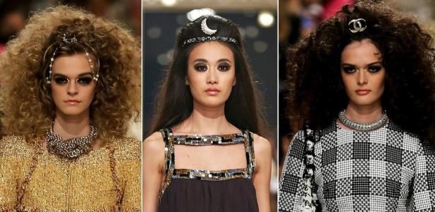 13.mai.2014 - Beleza do desfile pré-verão da marca Chanel, realizado em Dubai - Getty Images/Divulgação/Chanel