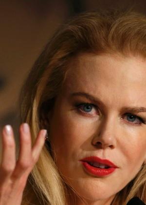 Nicole Kidman em coletiva de imprensa em Cannes, 2014 - Reuters