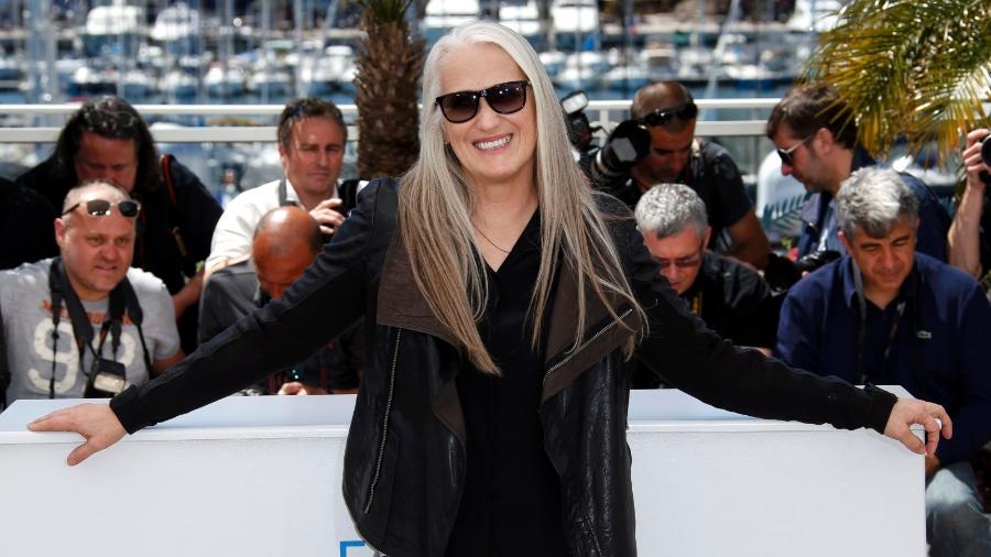 """Diretora de """"O Piano"""", Jane Campion, foi a única mulher a levar a Palma de Ouro, prêmio máximo de Cannes - Reuters"""