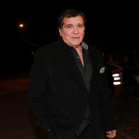 O cantor Jerry Adriani sofreu uma trombose na perna no início de março - Cláudio Augusto/Photo Rio News