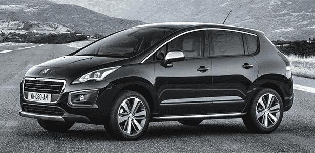 Peugeot 3008, que será lançado no Brasil em 21 de maio; visual ficou mais suave - Divulgação - Divulgação