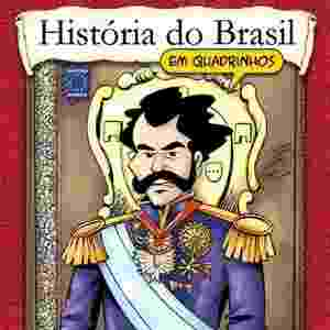 Reprodução - HQ História do Brasil em Quadrinhos