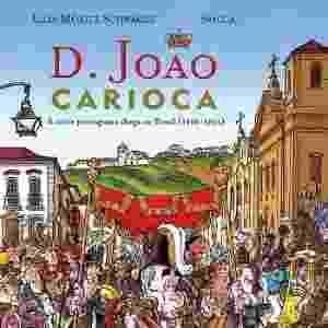 """Reprodução - HQ """"D. João Carioca - A corte portuguesa chega ao Brasil"""", de Spacca"""