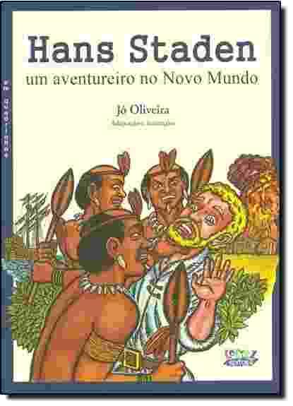 Reprodução - HQ Hans Staden - Um Aventureiro no Novo Mundo, de Jô Oliveira