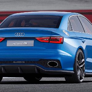 Audi A3 Clubsport quattro Concept - Divulgação