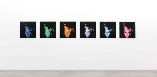 "Obra ""Six Self Portraits"" do artista Andy Warhol - EFE"