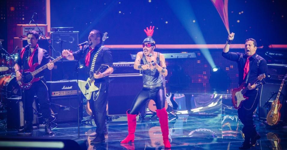 """4.mai.2014 - Tarcísio Meira's Band vence duelo com 69% dos votos no """"SuperStar"""""""