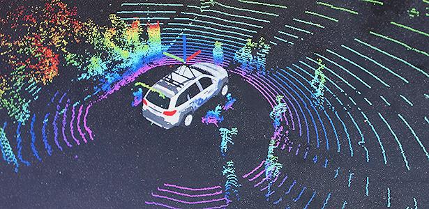 É assim que carros autônomos enxergam: mapas 3D são necessários para navegação - Eugênio Augusto Brito/UOL