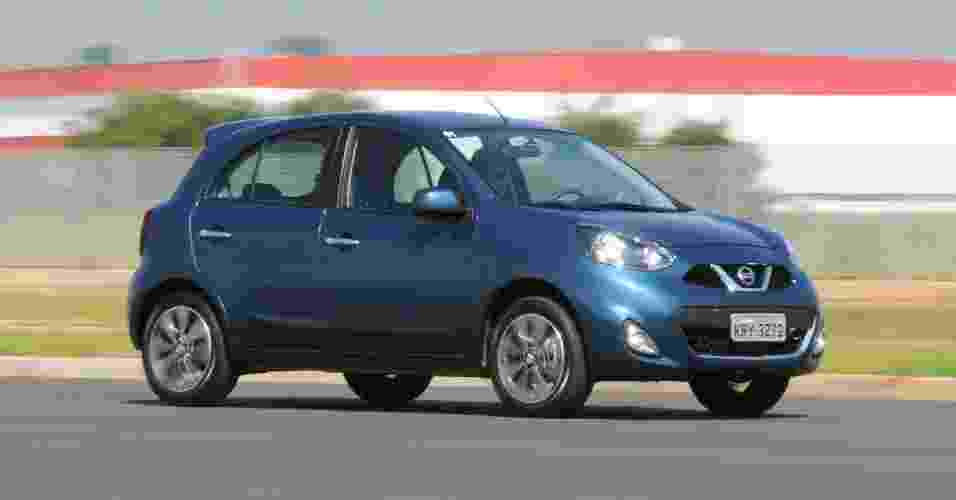 Nissan New March 1.6 SL - Murilo Góes/UOL
