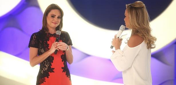 """Rachel Sheherazade participa do """"Eliana"""" e rebate críticas de Ricardo Boechat e Ana Paula Padrão"""