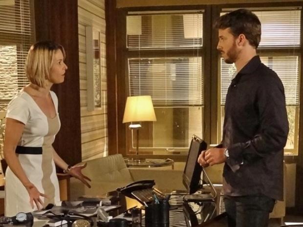 Silvia diz a Gabriel que não quer mais casar com ele