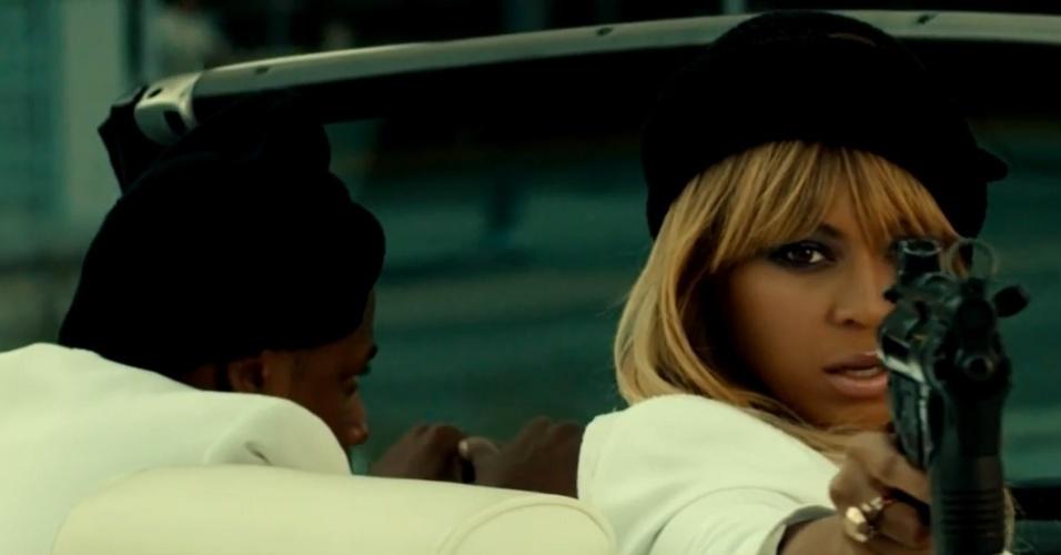 Jay-Z e Beyoncé são bandidos em trailer para divulgar turnê