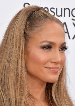 18.mai.2014 - Cantora Jennifer Lopez no tapete vermelho do Billboard Music Awards, em Las Vegas - Getty Images