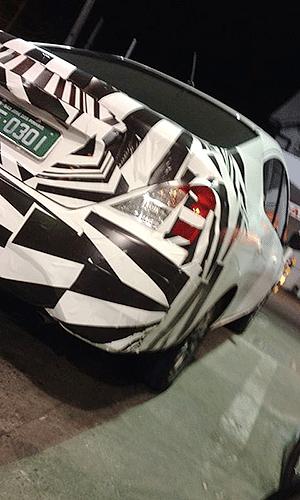 Nissan Versa reestilizado, que será fabricado no Brasil, já é visto no país