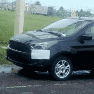 Novo Ford Ka já se mostra sem disfarces a poucos dias do lançamento - Filipe Ferreira/UOL