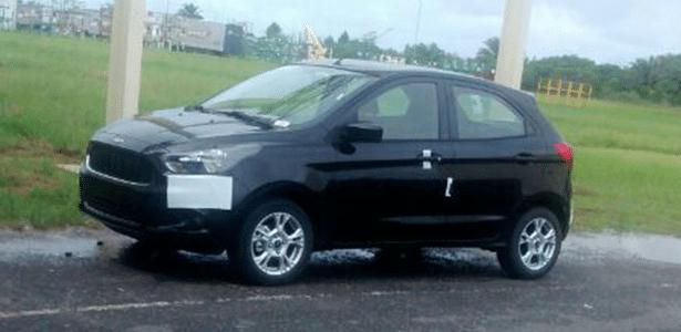 Novo Ford Ka já se mostra sem disfarces a poucos dias do lançamento