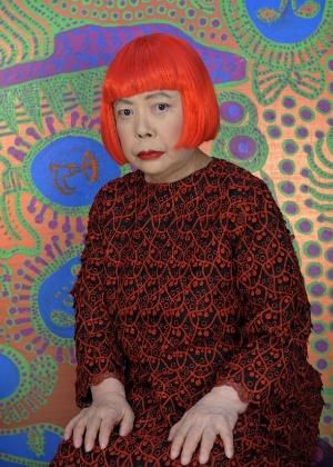 A artista plástica japonesa Yayoi Kusama, em foto de 2013 - Divulgação