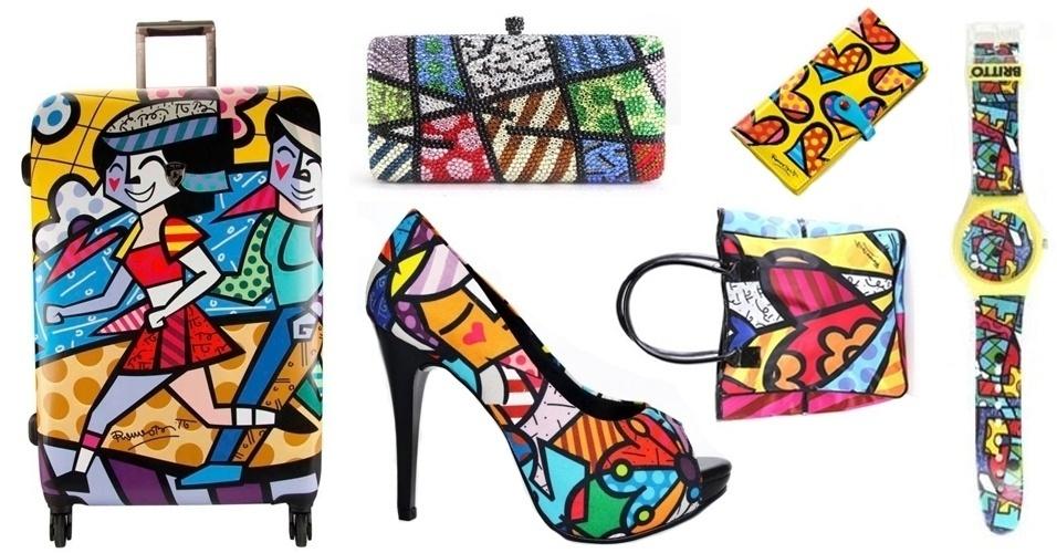 0f7a5c92b Guia de compras: roupas, calçados e acessórios com estampa do Romero Britto  - BOL Fotos - BOL Fotos