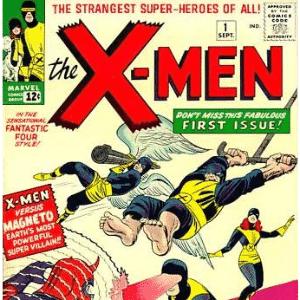X-Men #1, setembro de 1963 - Reprodução