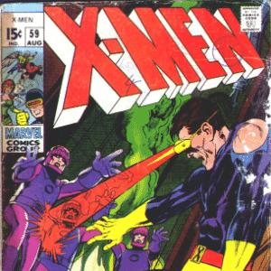 X-Men #54-59 - Reprodução