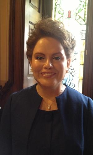 A presidente do Brasil, Dilma Rousseff, é uma das mais de 200 figuras que têm estátua no Museu de Cera da Cidade de México