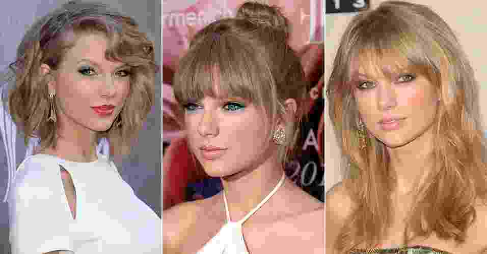 "Currículo da beleza: Taylor Swift é ""it-girl"" e inspira com visual retrô delicado - Getty Images"