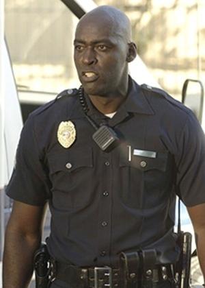 """O ator Michael Jace em """"The Shield"""" - Divulgação"""