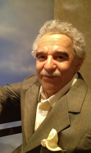 O recém-falecido escritor colombiano Gabriel García Marquez também marca presença no Museu de Cera da Cidade do México. A capital foi moradia e local da morte de Gabo, em 17 de abril deste ano