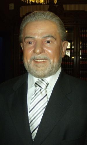 Outro político brasileiro que aparece no Museu de Cera da Cidade do México é o ex-presidente Lula
