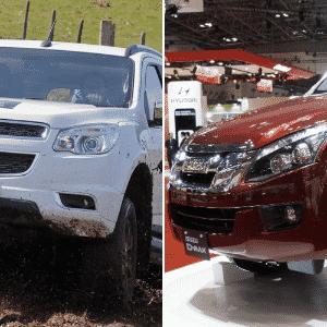 Chevrolet Trailblazer e Isuzu D-Max no Jogo das plataformas - UOL