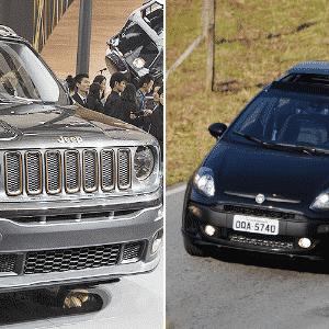Jeep Renegade e Fiat Punto no Jogo das plataformas - UOL