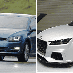 Volkswagen Golf e Audi TT no Jogo das plataformas - UOL