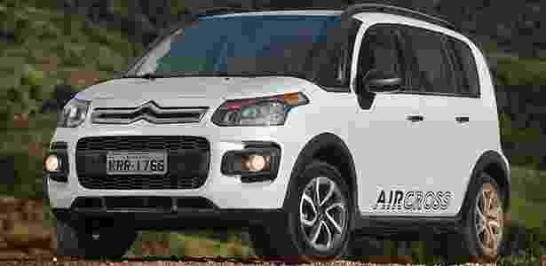 Citroën Aircross 2015 - Divulgação - Divulgação