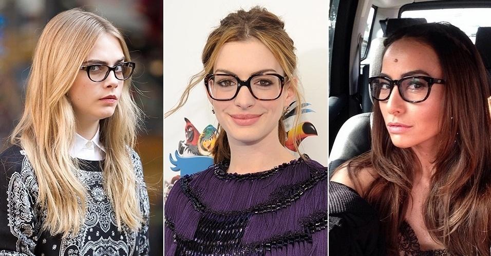 88112758b Fotos: Inspire-se nas famosas na hora de escolher os óculos de grau ...