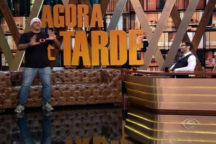 22.mai.2014 - Alexandre Frota foi o convidado especial do