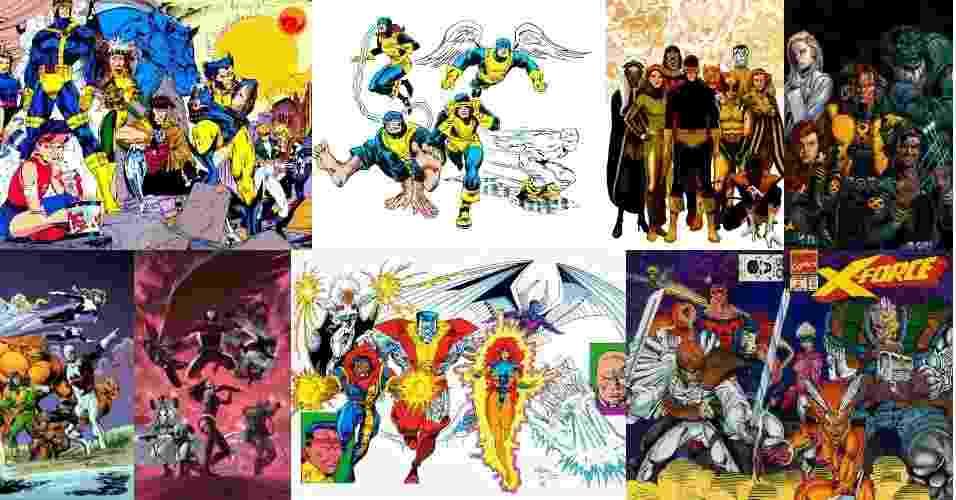 Equipes X-Men - Reprodução