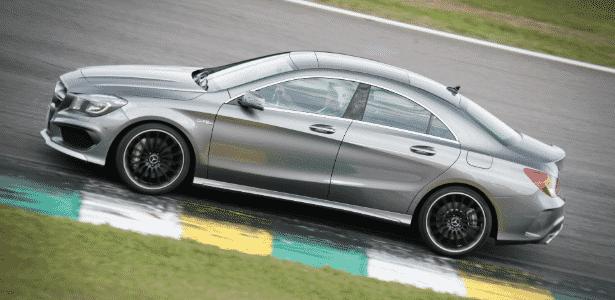Mercedes-Benz CLA 45 AMG - Divulgação - Divulgação
